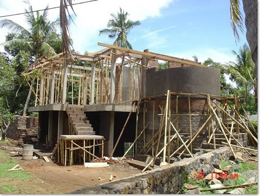 Bali villa design landscaping by bali motion for Construction villa